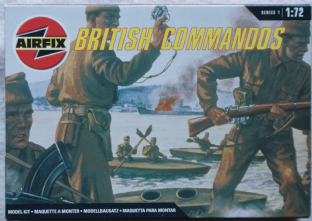 Airfix 1/72 AX01732 British Commandos (WW2)